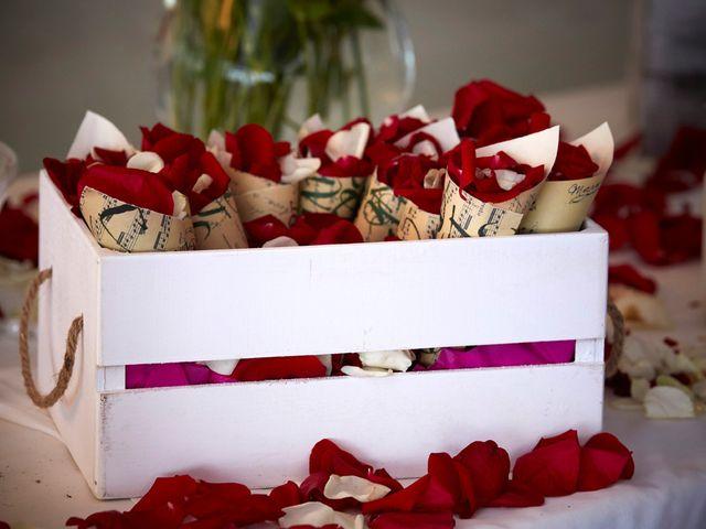 La boda de Aro y Juan Diego en El Saler, Valencia 14