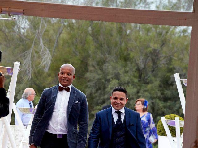La boda de Aro y Juan Diego en El Saler, Valencia 23