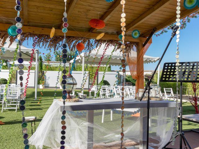 La boda de Alfonso  y Tania  en Galapagos, Guadalajara 2