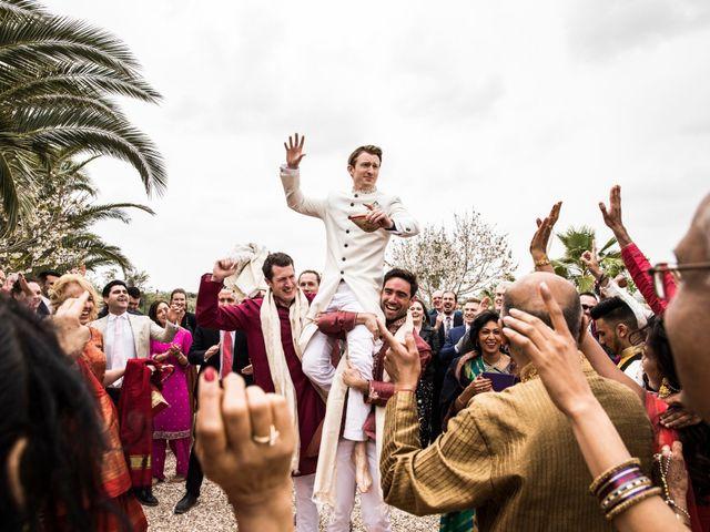 La boda de Tom y Reshma en Palma De Mallorca, Islas Baleares 15