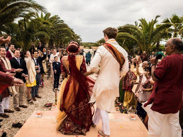 La boda de Tom y Reshma en Palma De Mallorca, Islas Baleares 41
