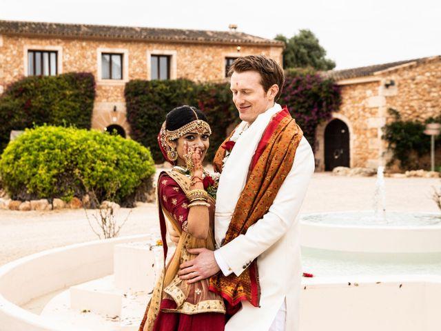 La boda de Tom y Reshma en Palma De Mallorca, Islas Baleares 54