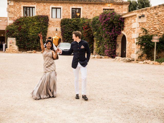 La boda de Tom y Reshma en Palma De Mallorca, Islas Baleares 52