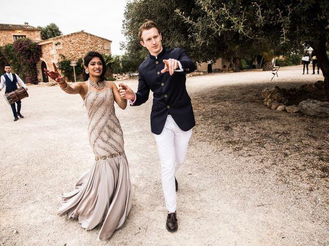 La boda de Tom y Reshma en Palma De Mallorca, Islas Baleares 50