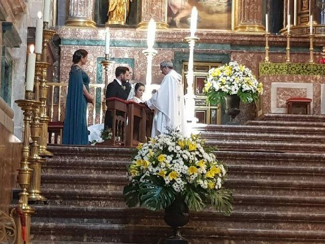 La boda de Alberto y María en San Lorenzo De El Escorial, Madrid 1