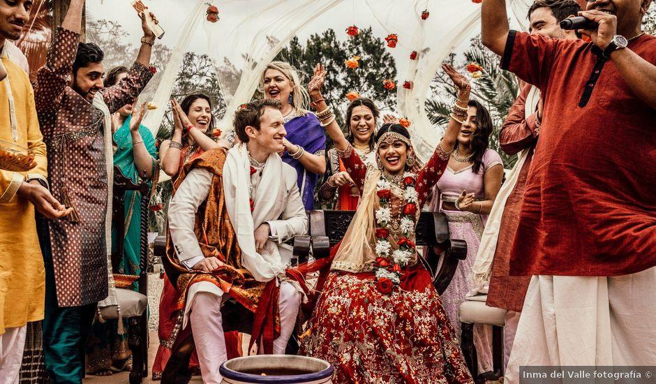 La boda de Tom y Reshma en Palma De Mallorca, Islas Baleares