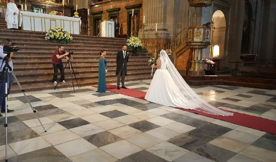 La boda de Alberto y María en San Lorenzo De El Escorial, Madrid