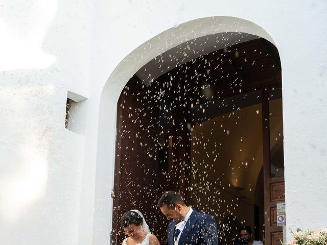 La boda de David y Laura en Santa Eularia Des Riu, Islas Baleares 18