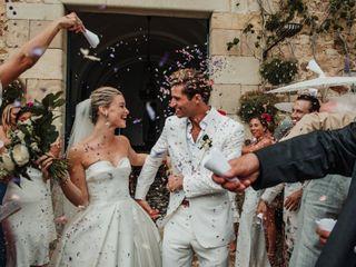La boda de Amy y Thom