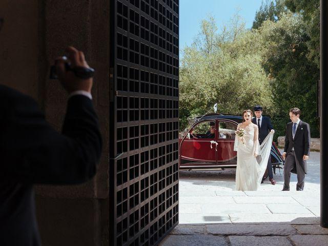La boda de Borja y Vero en Rascafria, Madrid 12