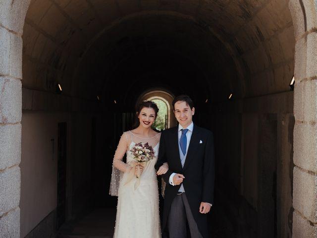 La boda de Borja y Vero en Rascafria, Madrid 14