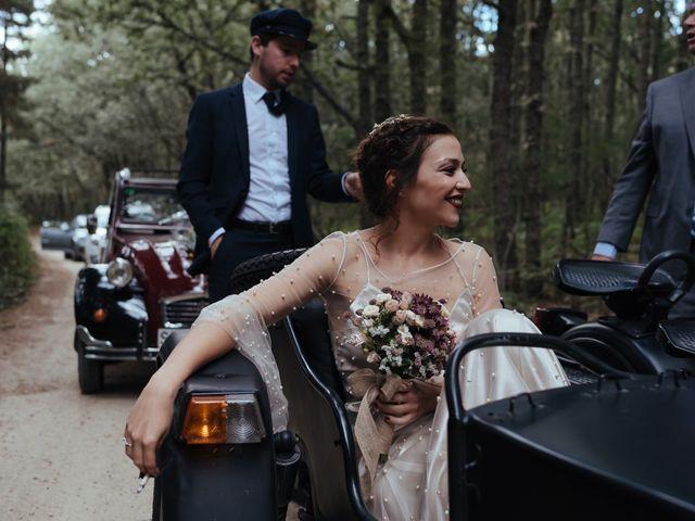 La boda de Borja y Vero en Rascafria, Madrid 28