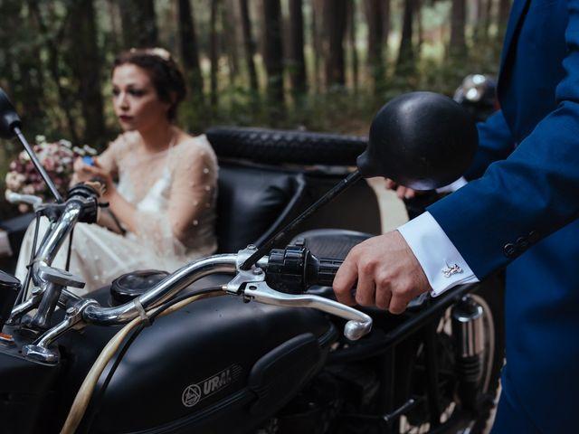 La boda de Borja y Vero en Rascafria, Madrid 29