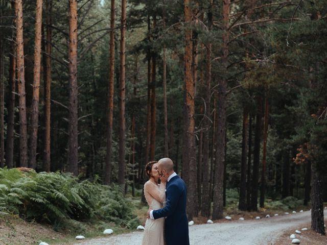 La boda de Borja y Vero en Rascafria, Madrid 2