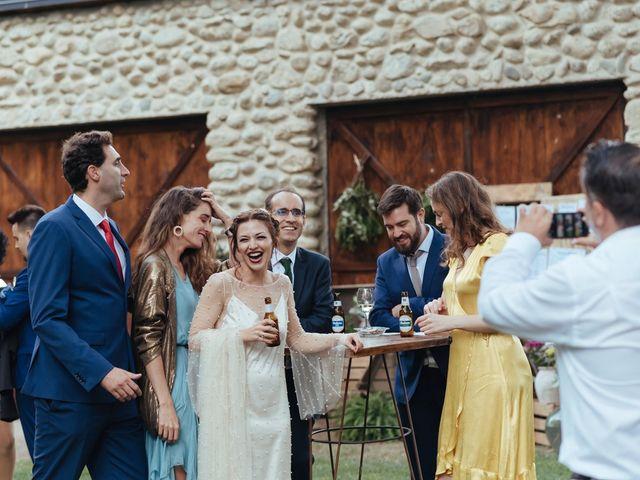 La boda de Borja y Vero en Rascafria, Madrid 35