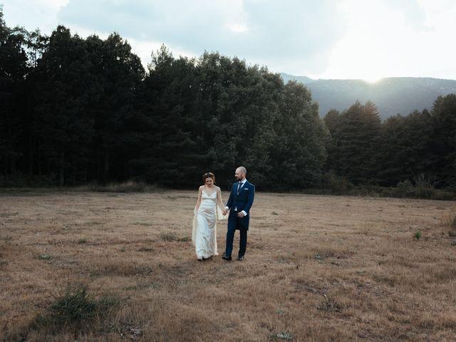 La boda de Borja y Vero en Rascafria, Madrid 40