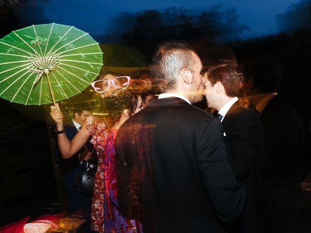 La boda de Borja y Vero en Rascafria, Madrid 45