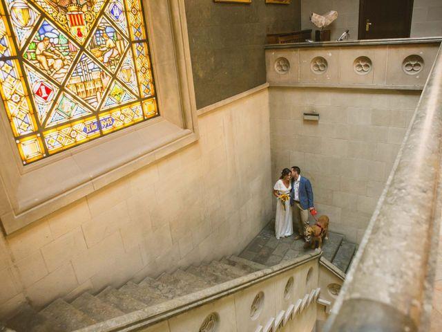 La boda de Javi y Maite en Rubi, Barcelona 13