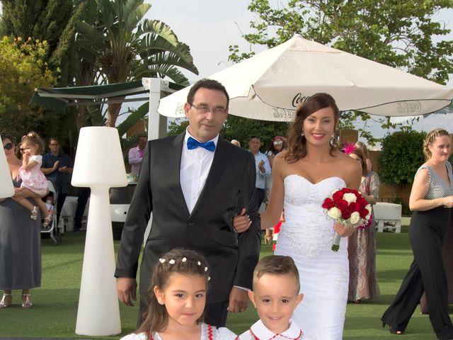 La boda de Lidia y David en Huercal De Almeria, Almería 30
