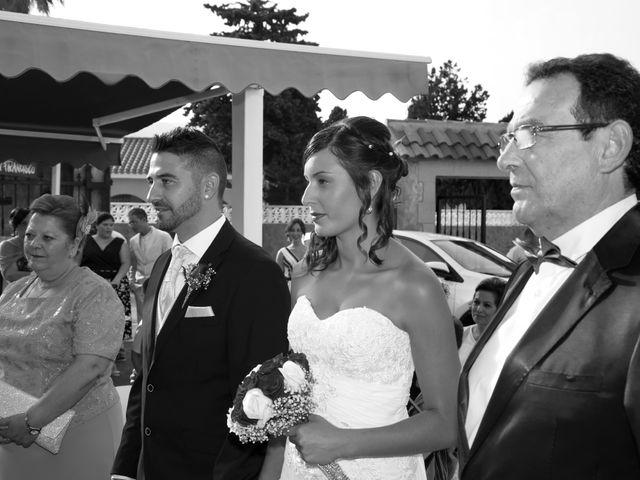 La boda de Lidia y David en Huercal De Almeria, Almería 32