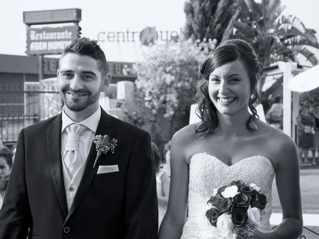 La boda de Lidia y David en Huercal De Almeria, Almería 34