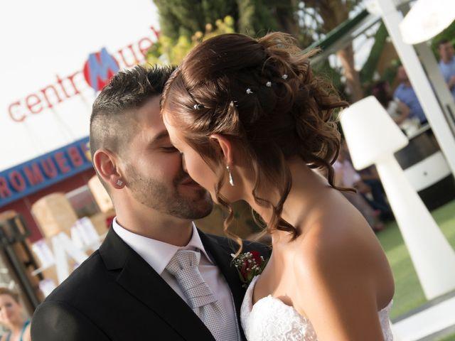 La boda de Lidia y David en Huercal De Almeria, Almería 38