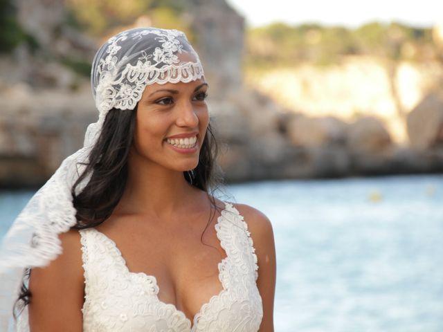 La boda de Jose y Eliana en Cala Llombards, Islas Baleares 1