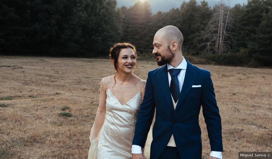 La boda de Borja y Vero en Rascafria, Madrid