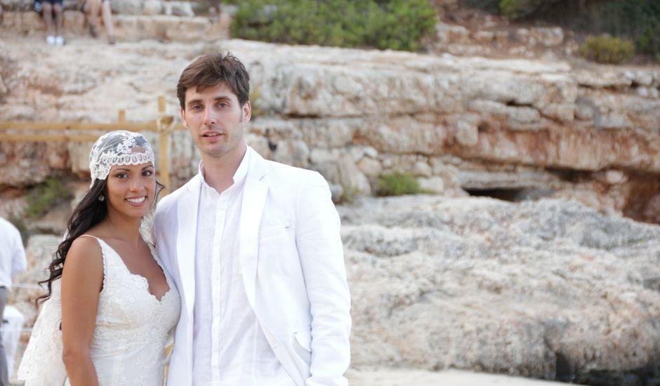 La boda de Jose y Eliana en Cala Llombards, Islas Baleares