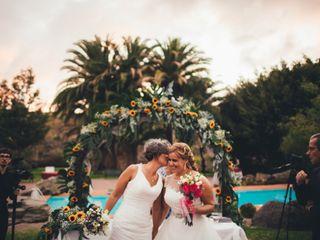 La boda de Cristina y Guacy