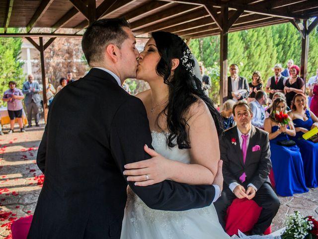 La boda de Álvaro y Macarena en Meco, Madrid 1