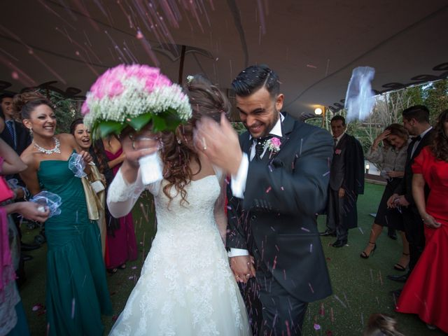 La boda de Miguel Angel y Alexandra en Palau De Plegamans, Barcelona 16