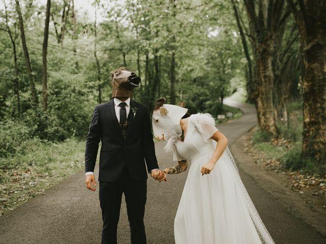 La boda de Unai  y Mel en Astigarraga, Guipúzcoa 5