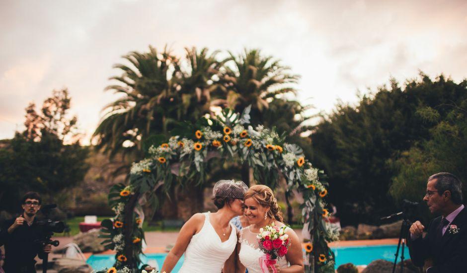 La boda de Guacy y Cristina en Anzo, Las Palmas