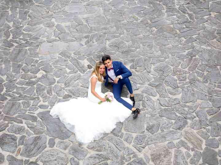 La boda de Andrea y Anand