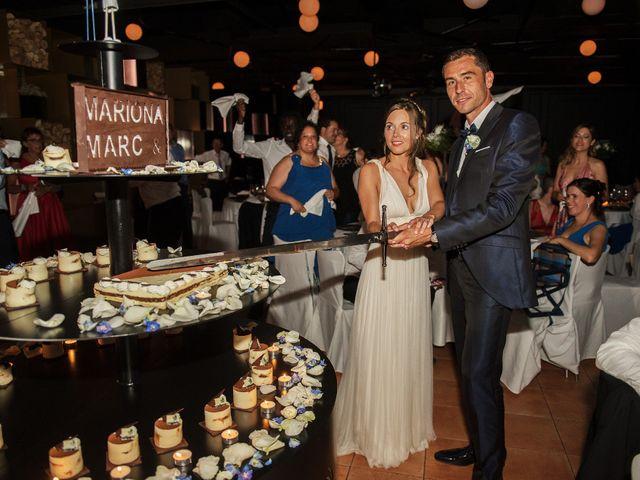 La boda de Marc y Mariona en La Vall De Bianya, Girona 199