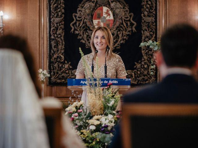 La boda de Rubén y Cristina en Avilés, Asturias 107