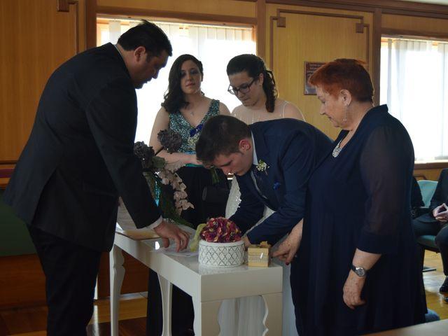 La boda de Adri y Fati en Monforte de Lemos, Lugo 1