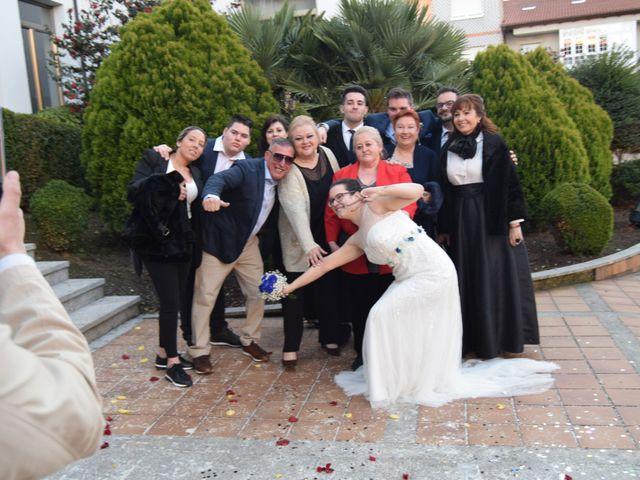 La boda de Adri y Fati en Monforte de Lemos, Lugo 2