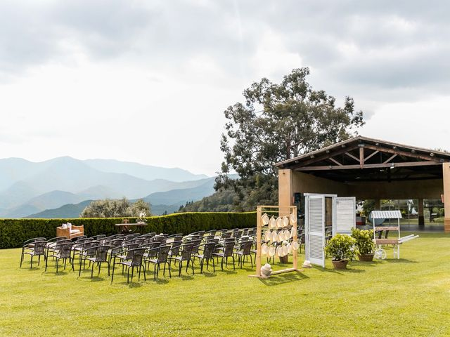 La boda de Joaquin y Criselen en Arbucies, Girona 3