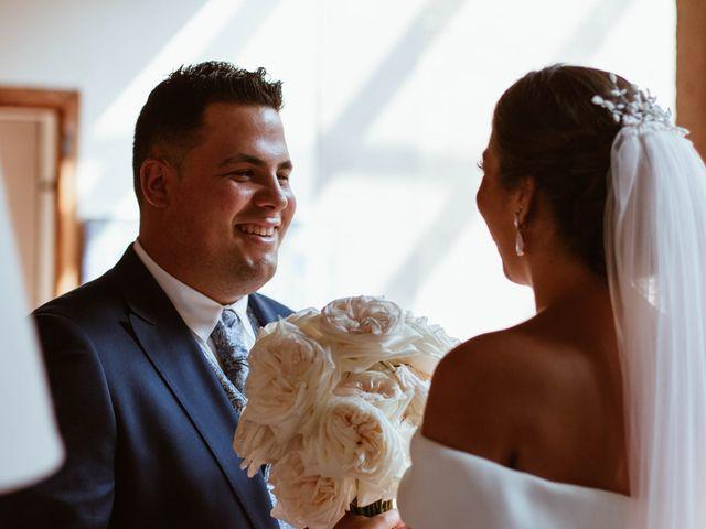 La boda de Sergio y Natacha en Zarza De Granadilla, Cáceres 23