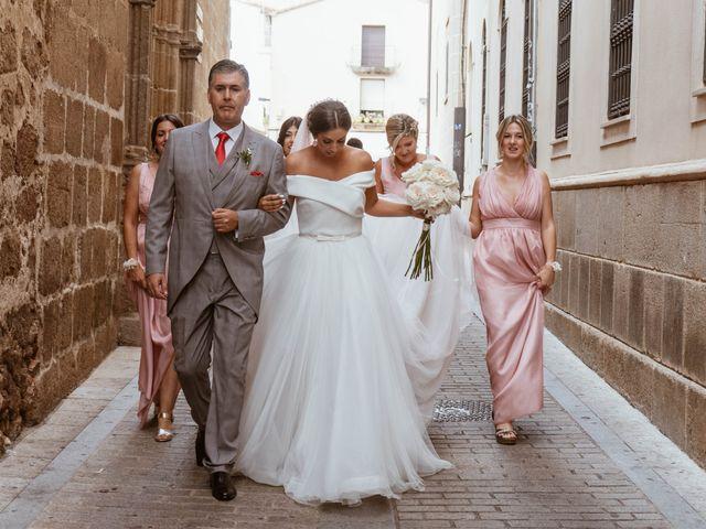 La boda de Sergio y Natacha en Zarza De Granadilla, Cáceres 25