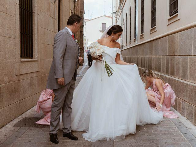 La boda de Sergio y Natacha en Zarza De Granadilla, Cáceres 26