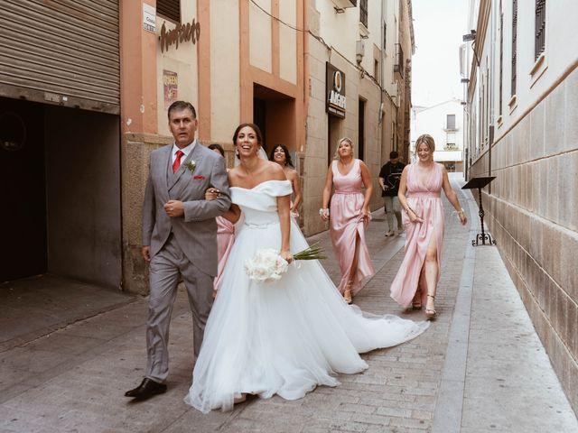 La boda de Sergio y Natacha en Zarza De Granadilla, Cáceres 27