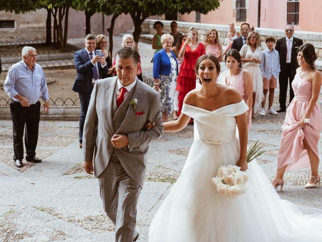 La boda de Sergio y Natacha en Zarza De Granadilla, Cáceres 28