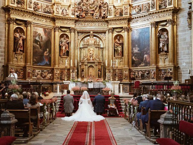 La boda de Sergio y Natacha en Zarza De Granadilla, Cáceres 29