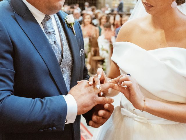 La boda de Sergio y Natacha en Zarza De Granadilla, Cáceres 31