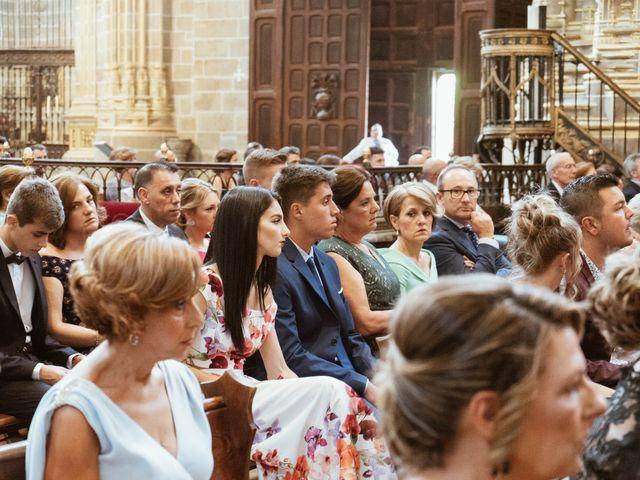 La boda de Sergio y Natacha en Zarza De Granadilla, Cáceres 32