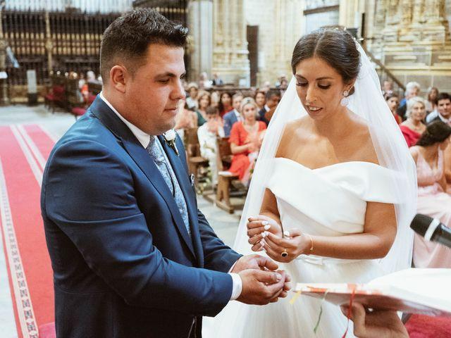 La boda de Sergio y Natacha en Zarza De Granadilla, Cáceres 33