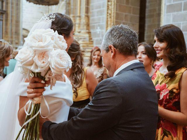 La boda de Sergio y Natacha en Zarza De Granadilla, Cáceres 35